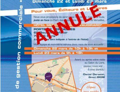 Affiche Journées OFF 2DCOM annulées